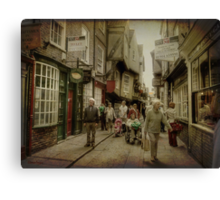 The Shambles, York, UK Canvas Print