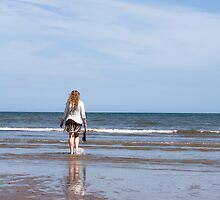Beach at St. Andrews, Scotland by Kevin Buck