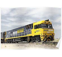 Yellow 17 Poster