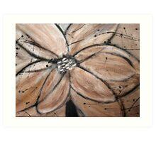 abstract flower 3 Art Print