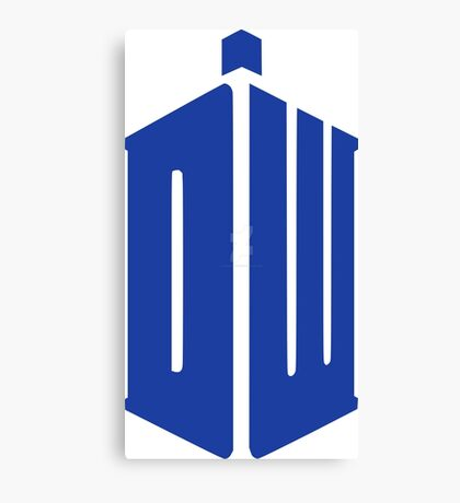 Doctor Who Your Tardis!!! Canvas Print