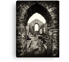 Old Irish Burial Site in Ennistymon, County Clare, Ireland Canvas Print