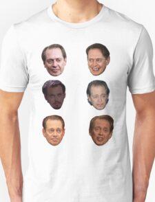 Steve Buscemi Faces Unisex T-Shirt