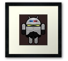 Android Police - Android Robocop Framed Print