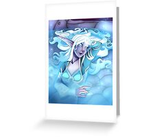 Elune Greeting Card