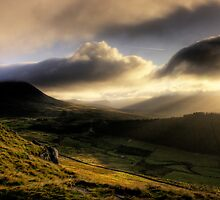 Early Morning Rays. by Neil Carey