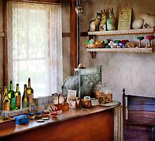 Americana - Store - In a charming little country store  by Mike  Savad