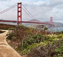 Golden Gate Bridge, San Francisco, CA, USA by upthebanner