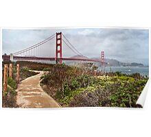Golden Gate Bridge, San Francisco, CA, USA Poster