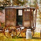 Americana - The Milk and Egg wagon  by Mike  Savad