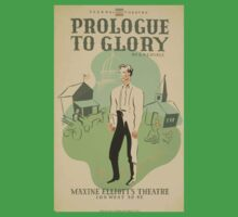 WPA United States Government Work Project Administration Poster 0621 Prologue to Glory Maxine Elliott's Theatre One Piece - Short Sleeve