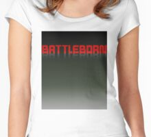 Battle born Women's Fitted Scoop T-Shirt