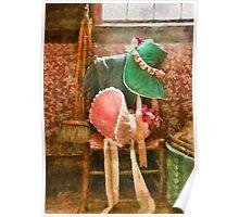 Antique - Bonnets  Poster