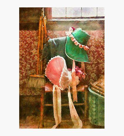 Antique - Bonnets  Photographic Print
