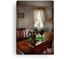 Sewing - My sewing room  Canvas Print