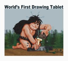 World's first Drawing Tablet by tapiona