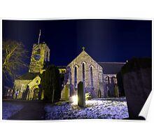 St Andrews Church, Corbridge Poster