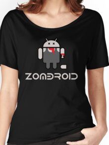 Android Zomdroid - Android Zombie Women's Relaxed Fit T-Shirt