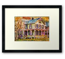 Victorian - Clinton, NJ - Grandma had a big family Framed Print