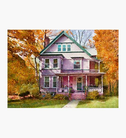 Victorian - Cranford, NJ - An Adorable house Photographic Print