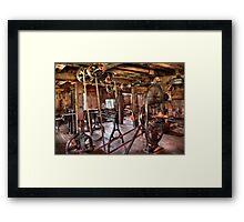 Trade - Carpenter - This old shop Framed Print