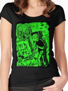 Artwork by Dandy Jon Women's Fitted Scoop T-Shirt