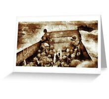 Men of Bravery by John Springfield Greeting Card