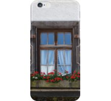 Windows and flowers iPhone Case/Skin