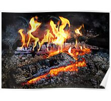 Chef - Stove - The Yule log  Poster