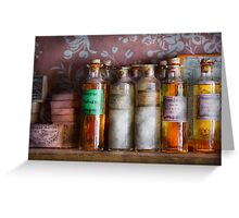 Doctor - Perfume - Soap and Cologne Greeting Card