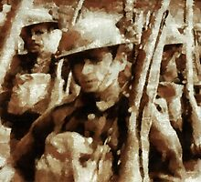 British Soldiers by John Springfield by esotericaart