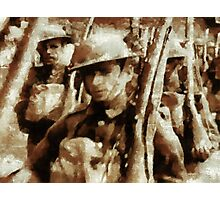 British Soldiers by John Springfield Photographic Print