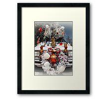 Mobile Christmas Framed Print