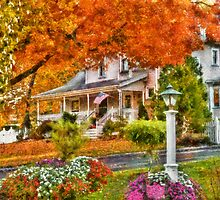 Autumn - Westfield, NJ - The Beauty of Autumn by Mike  Savad