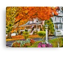 Autumn - Westfield, NJ - The Beauty of Autumn Canvas Print