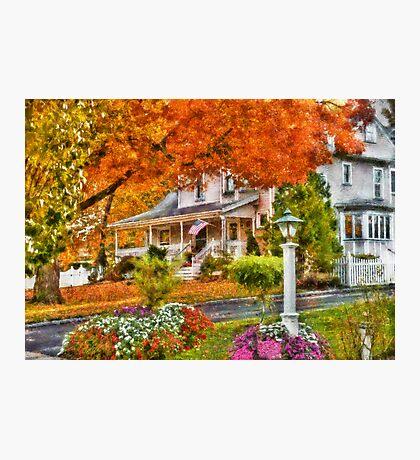 Autumn - Westfield, NJ - The Beauty of Autumn Photographic Print
