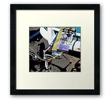 The Schwinn Sting-Ray  Framed Print