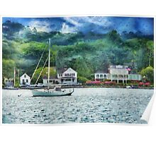 Transportation - Boat - Mystic CT - A good day to sail Poster