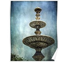 ~ Town Square Fountain ~ Poster