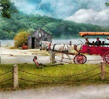 Transportation - Wagon - Traveling in style by Mike  Savad
