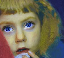 Big Blue Eyes by SylviaHardy