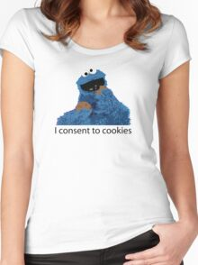 cookies Women's Fitted Scoop T-Shirt