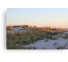 Sand Dune at Sunrise Canvas Print