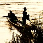 Long Day on the Mekong by Kevin Buck