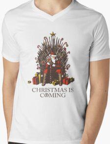 Christmas is Coming Mens V-Neck T-Shirt