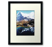 Eiger Squared Framed Print