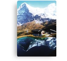 Eiger Squared Canvas Print