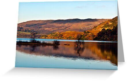Calm Day on Ullswater by Trevor Kersley