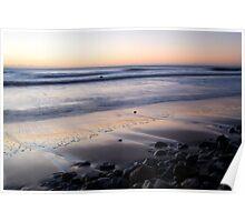 Ballynaclash beach at dawn Poster