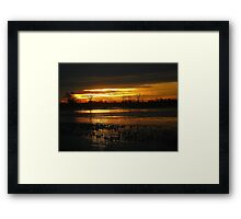 Fire & Ice ! Framed Print